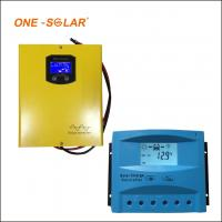 10A 20A 30A Solar Charger Controller , 12v 24v auto LCD screen PWM solar charger for sale