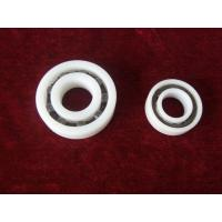 Wholesale PTFE PVDF Plastic Ball Bearings Corrosion Preventive With Ceramic Or Stainless Balls from china suppliers