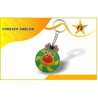 Quality PVC Colorful Promotional Keychains With Free Sample Charge for sale