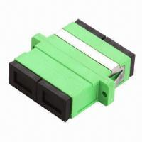 Wholesale Fiber Optic Adapter with SC Duplex APC, with Flanges, PBT/ABS Optional, Low Insertion Loss  from china suppliers