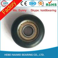 Quality Closet round and wheels for sliding cabinet convex roller for sale