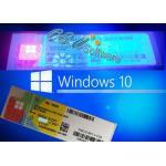 China Global Working Windows 10 Key Code , Windows Coa Sticker Pro Home Key License for sale