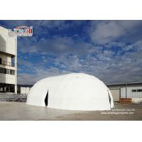 Best 25m Special White Portable Customized Ellipse Steel Pvc Event Dome Tent for Outdoor Party wholesale