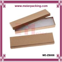 Small Kraft Paper Cardboard Boxes for Necklace Jewelry Set ME-ZB008 for sale