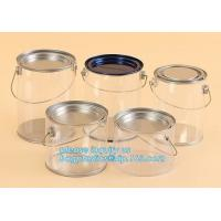 Wholesale aluminum tin aluminum container jar with clear window top aluminum cans with screw lid for cosmetic/food bagplastics pac from china suppliers