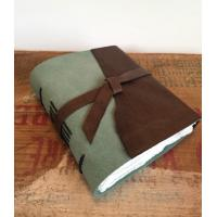 China - Leather Bound Journal Leather Sketchbook Handbound Journal Hand Bound Book Leather Noteb on sale