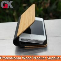 China Custom Leather Phone Cases, bamboo leather cell phone cases on sale