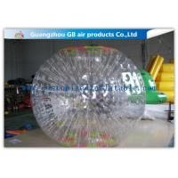 China Funny Transparent Inflatable Bumper Ball , Inflatable Grass Zorb Ball For Adults on sale