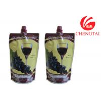 Wholesale Food Grade Self Standing Spouted Plastic Pouches For Liquids Wine from china suppliers