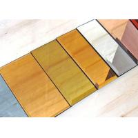 China 5mm Decorative Tinted Beveled Glass Mirror , Large Wall Mirror Glass for sale