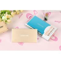 Wholesale Blue Aluminum Ultra Thin Universal Portable Power Bank High Capacity 5V 2.1A from china suppliers