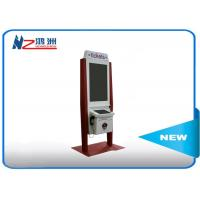 China 32 inch self service payment kiosk with RFID card reader and bill acceptor on sale