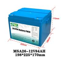 Wholesale Li Polymer LiFePO4 12 Volt Lithium Battery Pack for Home Solar Energy System from china suppliers