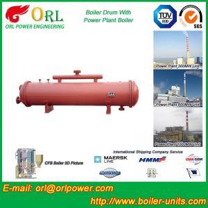 Best Anti shock gas hot water boiler mud drum ASME wholesale
