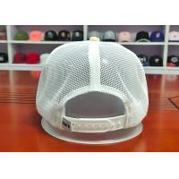 Wholesale Fashionable Mix Color Blank Custom design logo Flat Bill Plastic buckle Snapback Caps Hats from china suppliers