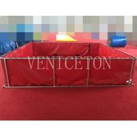 folding and  portable water storage for fire fighter for sale
