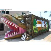 Buy cheap Dinosaur 5D Movie Theater Equipment Motion Cinema Seating With Cup Holder from wholesalers