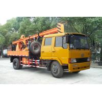 Truck Mounted Drilling Rig , Mobile Drilling Rigs For Bridge , Dam