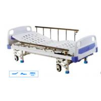 China Medical Hospital Bed Hospital Furniture With Steel Hand Crank on sale