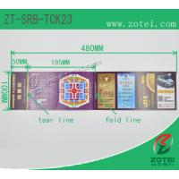 Wholesale RFID folding ticket ( Product model: ZT-SRB-TCK23) from china suppliers