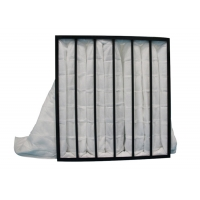 Wholesale White Pocket Air Filter Plastic Frame With Non Woven Fabrics from china suppliers