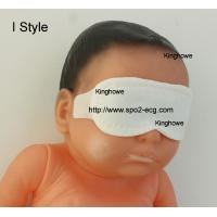 China I Style Neonatal Phototherapy Eye Mask Size Custom Blue And White Color for sale