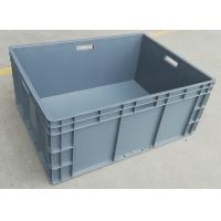 Wholesale Big Volume Stackable Virgin Plastic Containers  800*600*340 mm Loading Capacity 45kg from china suppliers