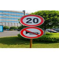 Wholesale Warning Reflective Traffic Sign , Road Safety Signs 124cm*200cm from china suppliers