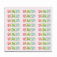 Wholesale 3-D Stickers, Made of PVC, Customized Designs are Accepted, Suitable for Mobile Phones from china suppliers
