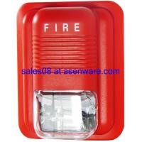 Fire alarm strobe conventional sounder
