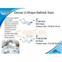 Wholesale Deluxe U-Shape Bathtub Seat W/O Back from china suppliers