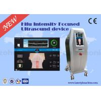 Professional 3D HIFU Machine 4MHz 7MHz 8MHz 10MHz Face Lifting Device for sale