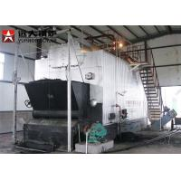 Wholesale Automatic 4000Kg Rice Husk Fired Steam Boiler , Solid Fuel Biomass Boiler from china suppliers
