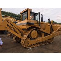 Newly Paint Used Cat Bulldozer D7R With Single Shank Ripper 24584kg Operate Weight for sale
