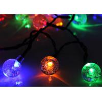 Wholesale 6500K Decorative Solar Lights For Celebration / Solar Powered Christmas Lights from china suppliers