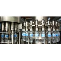Small Scale Bottle Water Filling Machine Hight Efficiency For Mineral Water / Pure Water