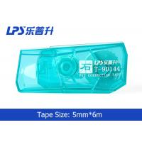 Wholesale Green / Blue / Red Mini Correction Tape In Blister Card 5mm * 6m from china suppliers