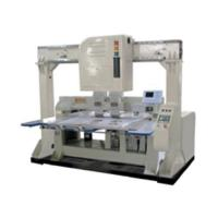 Two head laser embroidery bridge system