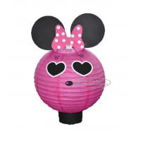 Wholesale Cartoon Animal Handmade Paper Lantern With A Battery Indoor Hanging from china suppliers