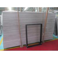 White Wood Vein Marble For Hotel Decoration for sale