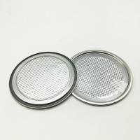 China Corrosion Resistant Peel Off End , Metal Jar Lids Components For Food Packaging for sale