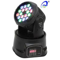 Wholesale PR Lighting American DJ Led Moving Head Wash 18x3w With Pan 540 Degree Waterproof from china suppliers