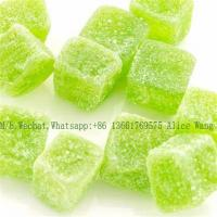 Wholesale Pure Apple Gummy Production Line 100kg/h Fruit Jelly Gum Candy Production Line CE Approval from china suppliers