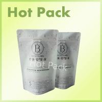 Wholesale 600g Matte Charcoal Garden Detox Zipper Laminated Ziplock Stand Up Pouches from china suppliers
