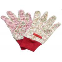 Wholesale Reusable Industrial Work Gloves , Cotton Knitted Gloves Fabric Cotton Drill from china suppliers