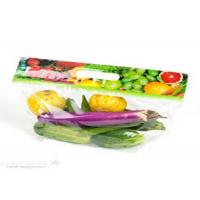 Wholesale Eco Friendly Clear Plastic Bags Fresh Fruit With Handle Zipper Gravure Printing from china suppliers
