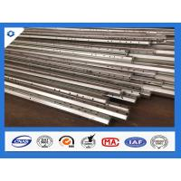 Best 25FT 2.5mm Thick Philippines Standard Hot Dip Galvanized Steel Pole wholesale