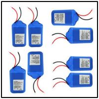 Wholesale Rechargeable Li Ion Security Alarm Batteries With 2200mAh Capacity , Custom Color from china suppliers
