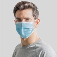Wholesale Protective Disposable Earloop Face Mask Non Woven 3 Ply With Customized Logo from china suppliers