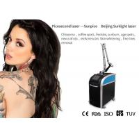 China Painless Picosecond Laser Tattoo Removal Machine 755m Two Years Warranty for sale